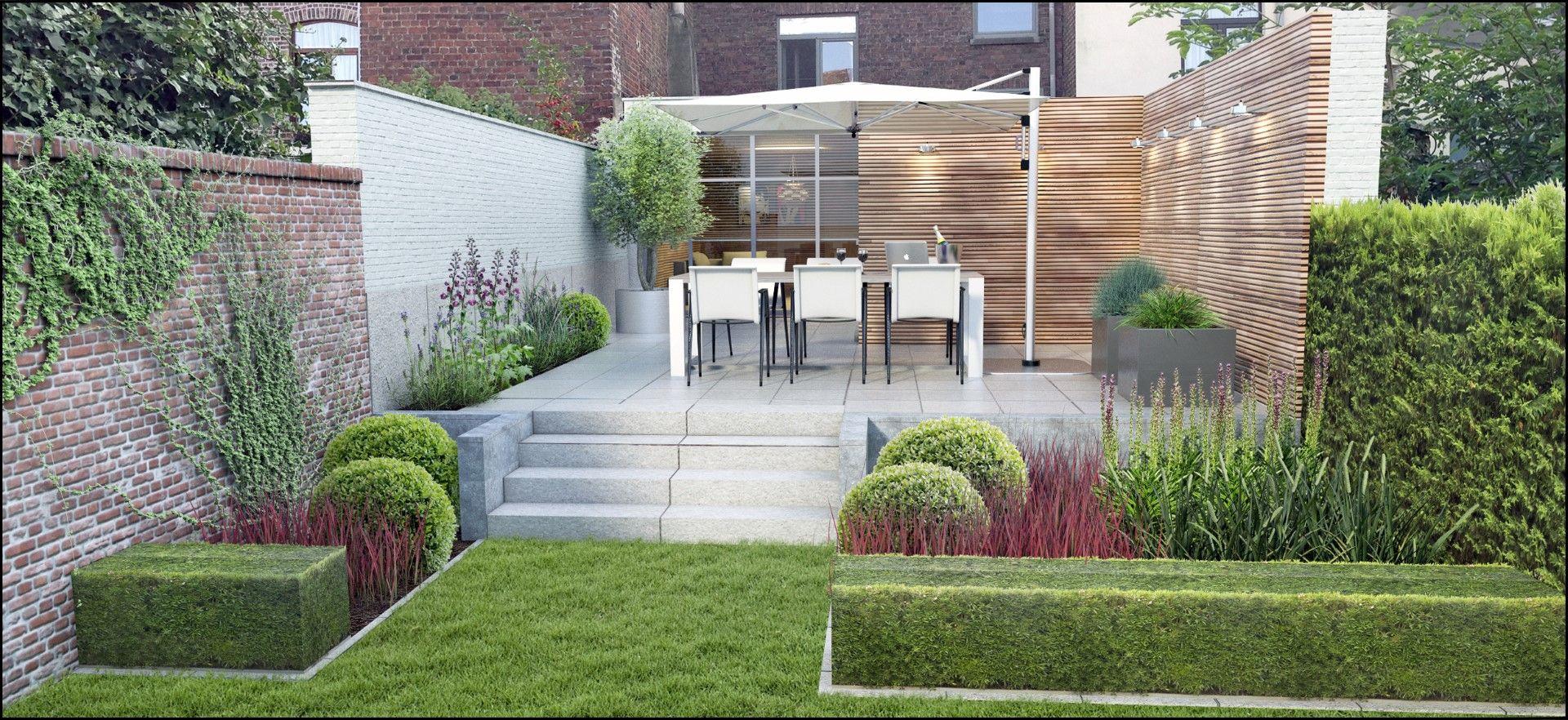 Groupe Eco Paysagiste | Projets 3D | Petit Jardin De Ville ... à 3D Jardin & Paysagisme