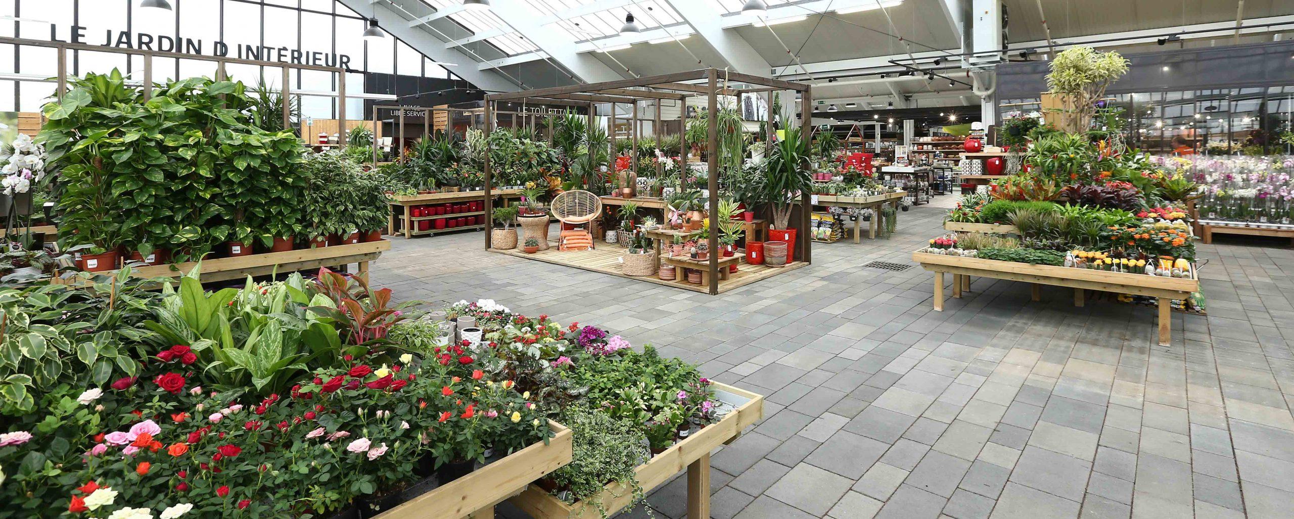 Groupe Lindera | Nouveau Concept Jardiland avec Serre De Jardin Jardiland