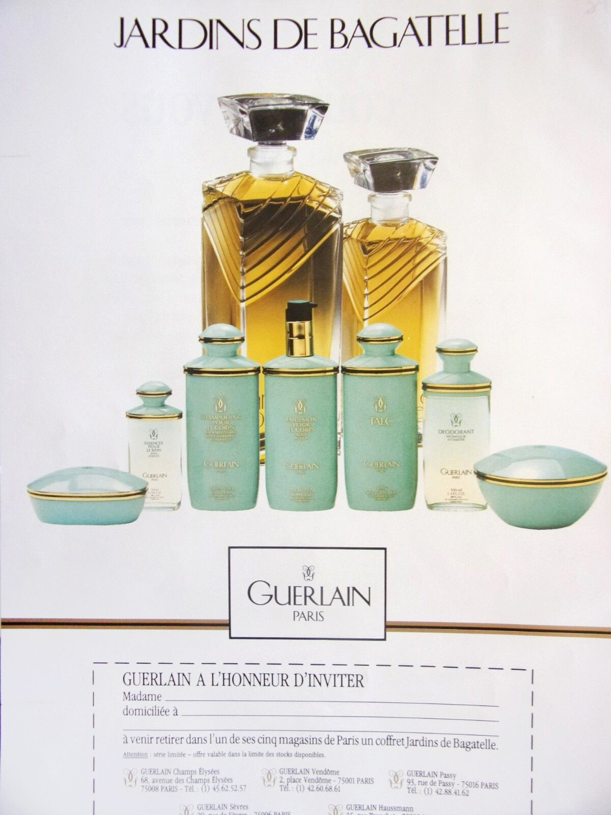 Guerlain - Jardins De Bagatelle Eau De Toilette   Reviews tout Jardin De Bagatelle Parfum