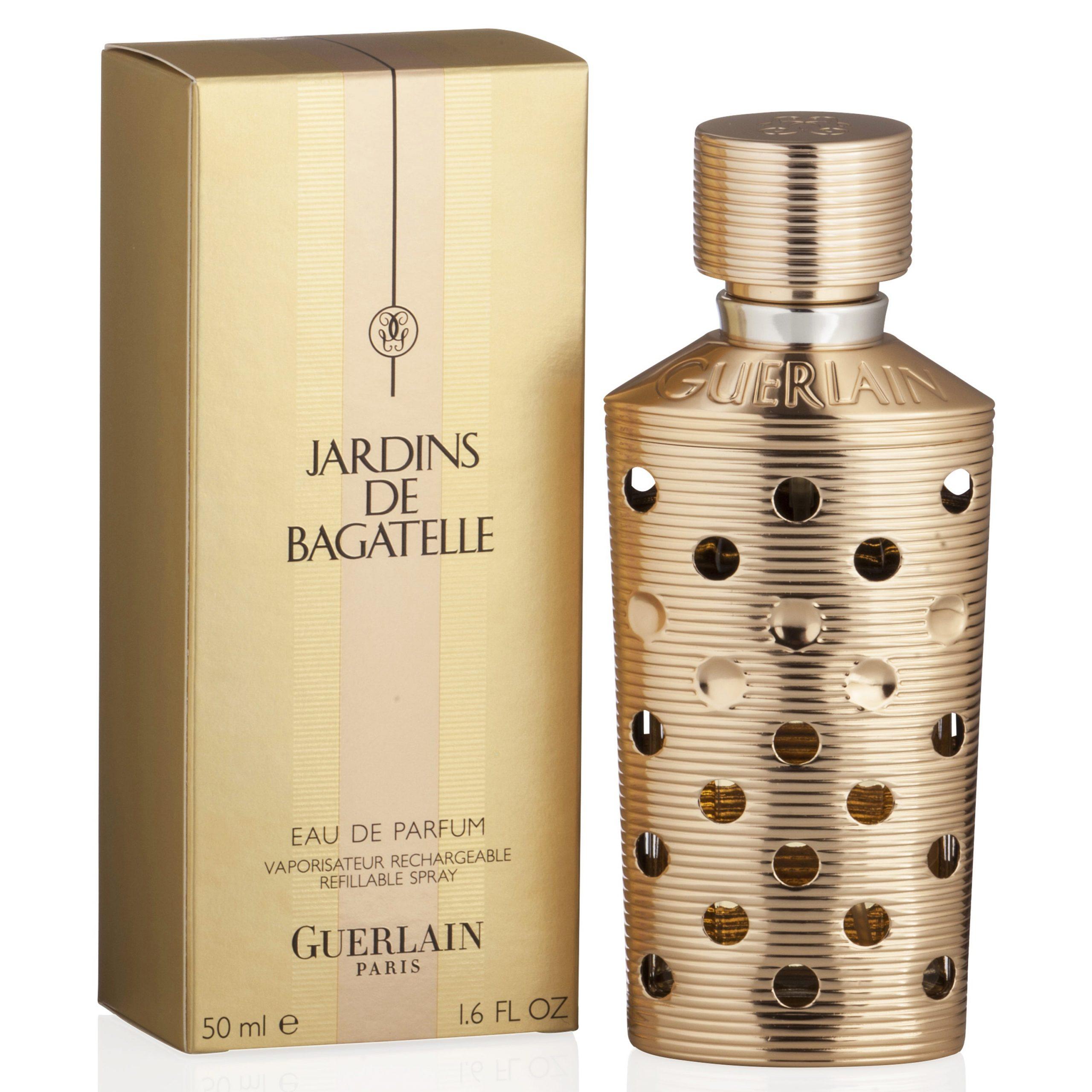 Guerlain Jardins De Bagatelle Women's 1.6-Ounce Refillable Eau De Parfum  Spray serapportantà Jardin De Bagatelle Guerlain
