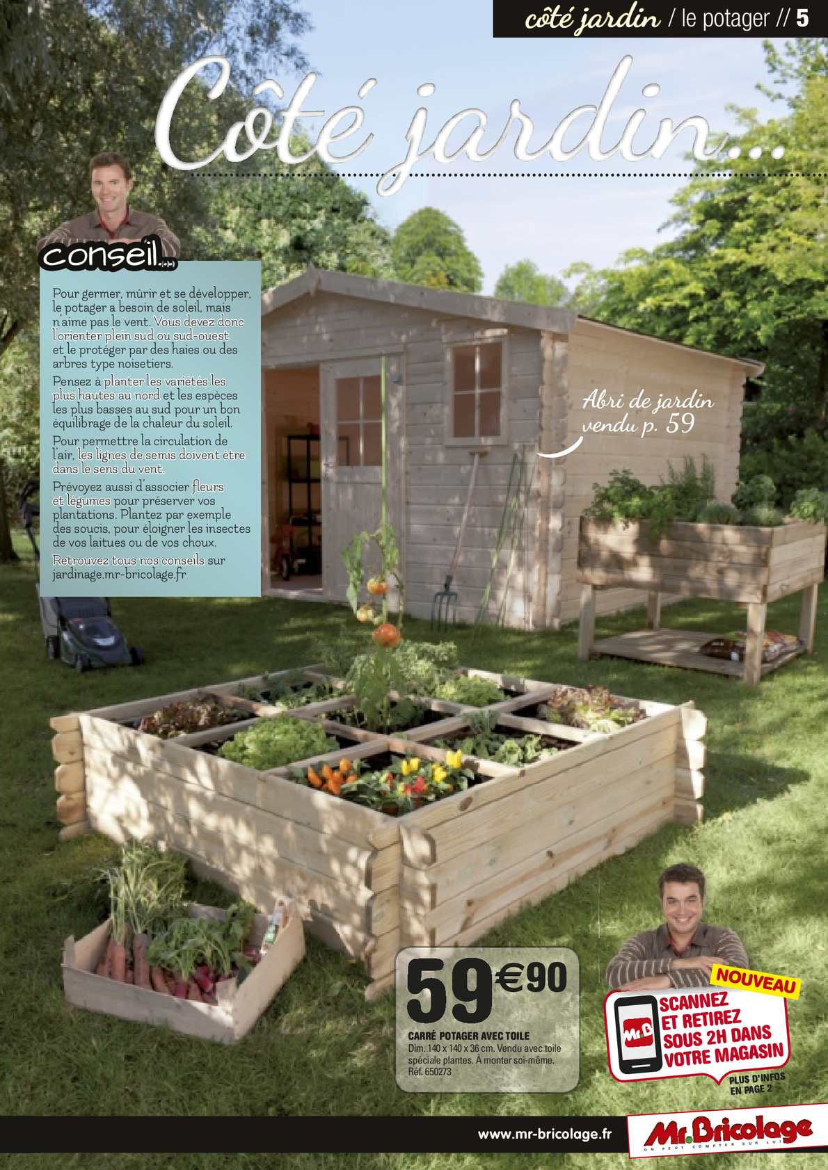 Guide Jardin 2014 Mr.bricolage - Calameo Downloader à Abri Jardin Mr Bricolage
