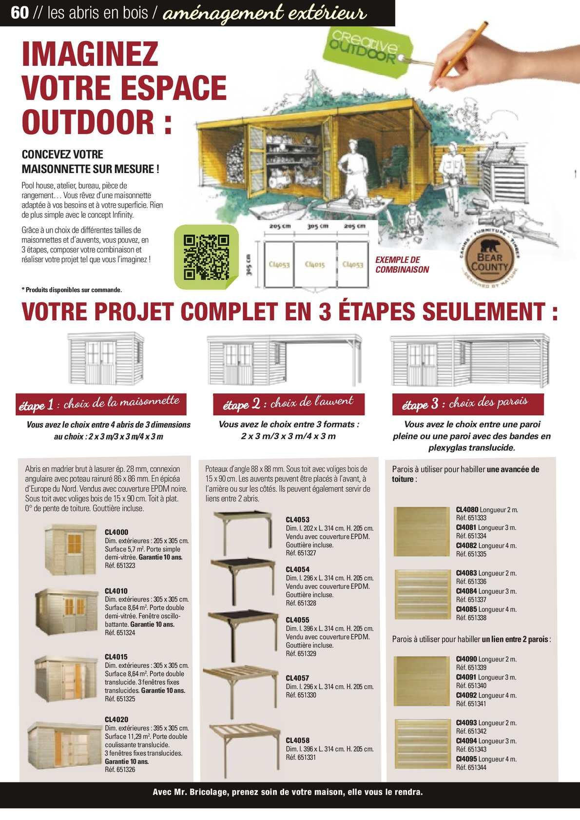 Guide Jardin 2014 Mr.bricolage - Calameo Downloader avec Abri De Jardin Mr Bricolage