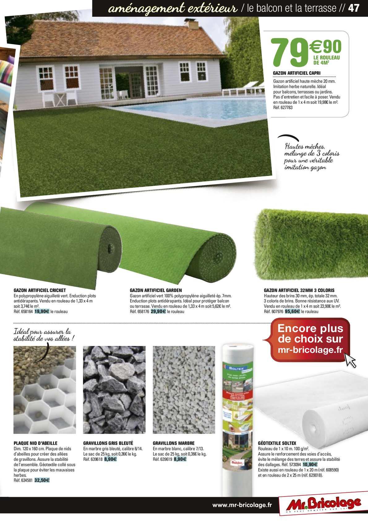 Guide Jardin 2014 Mr.bricolage - Calameo Downloader destiné Geotextile Jardin