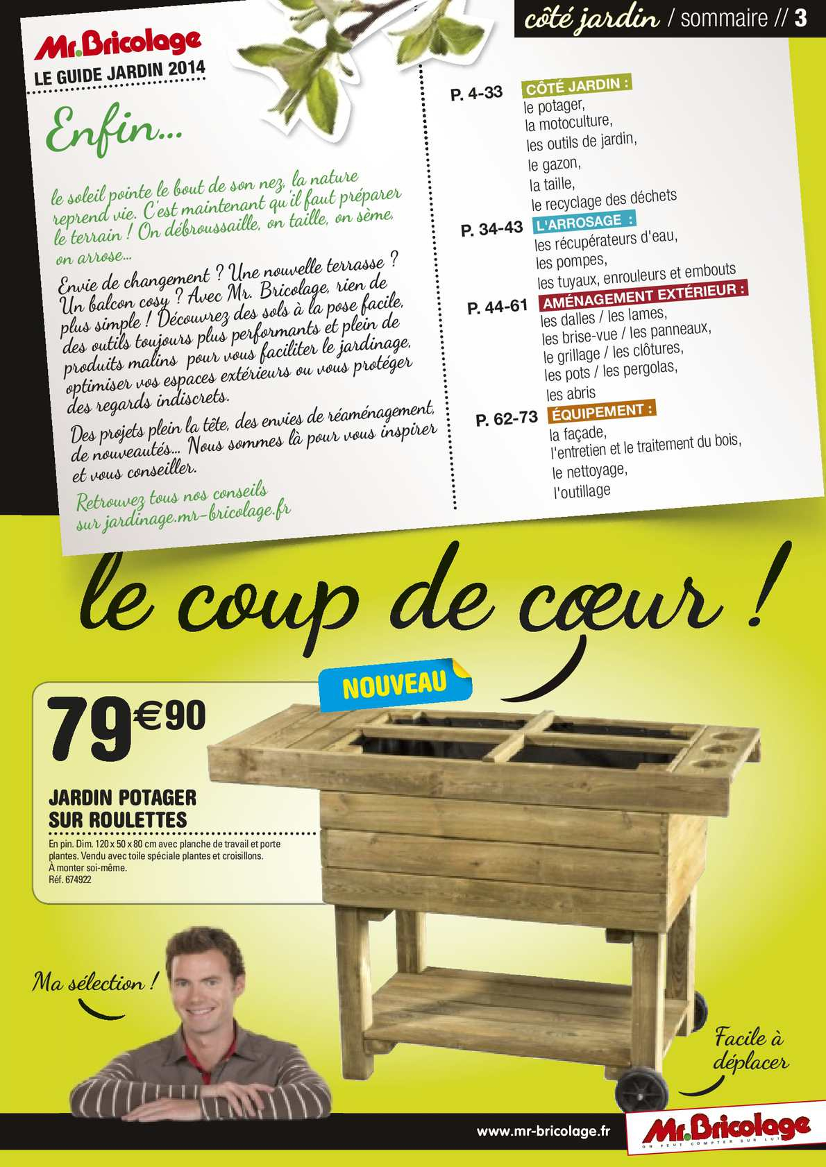 Guide Jardin 2014 Mr.bricolage - Calameo Downloader intérieur Croisillon Jardin