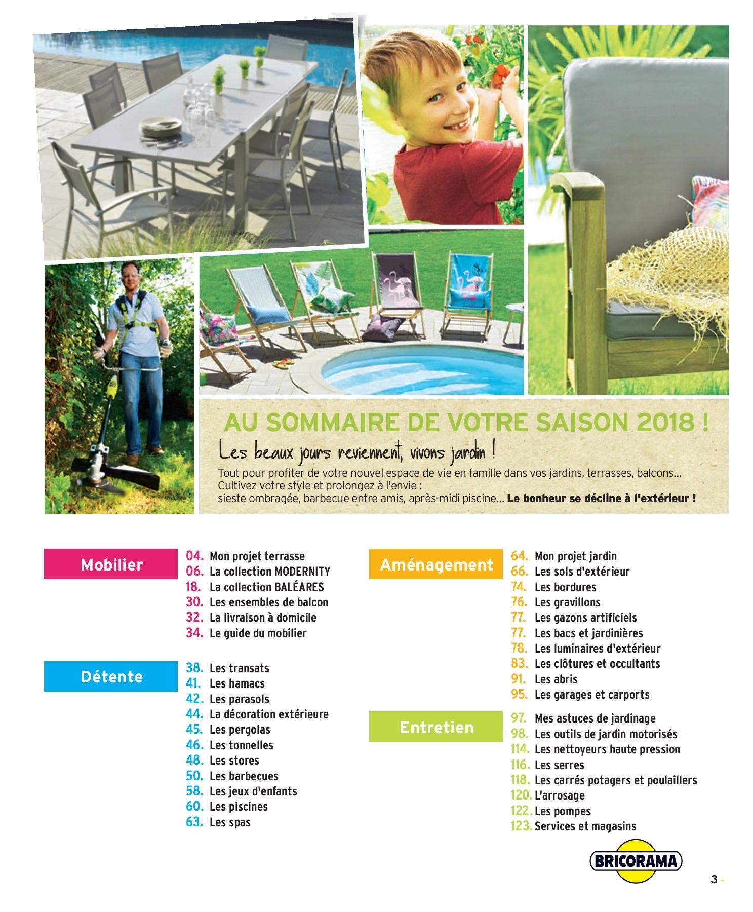 Guide Jardin 2018 | Fliphtml5 avec Mon Mobilier De Jardin