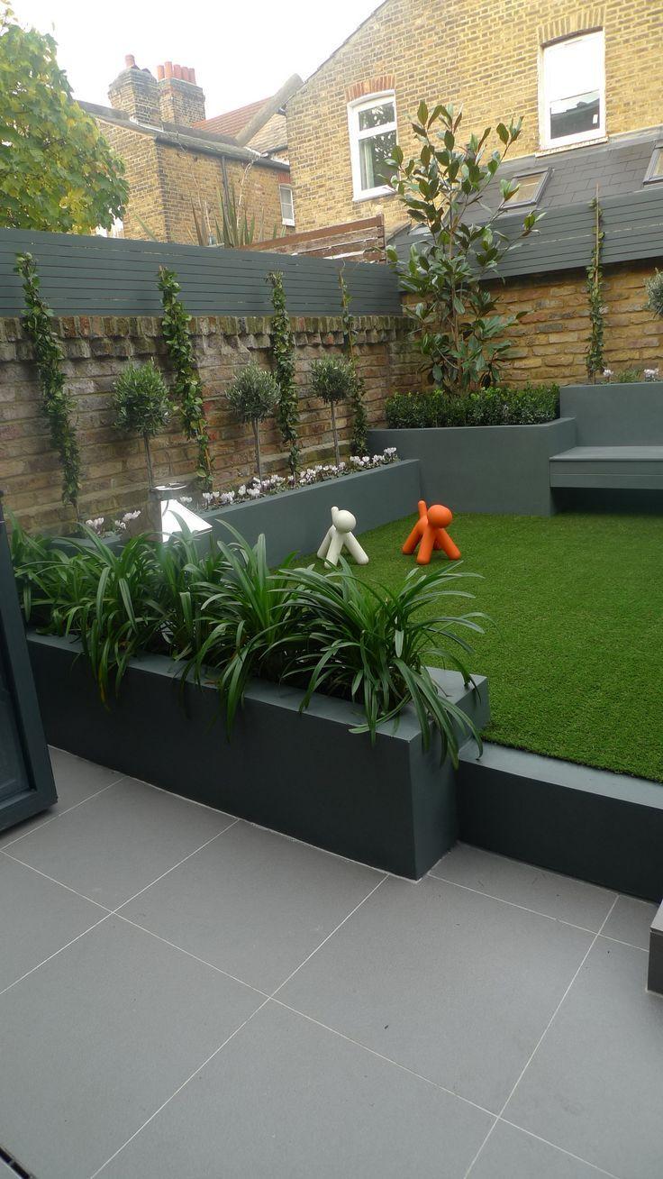 Hardwood | London Garden Design | Garden | Jardins, Design ... dedans Creation Petit Jardin
