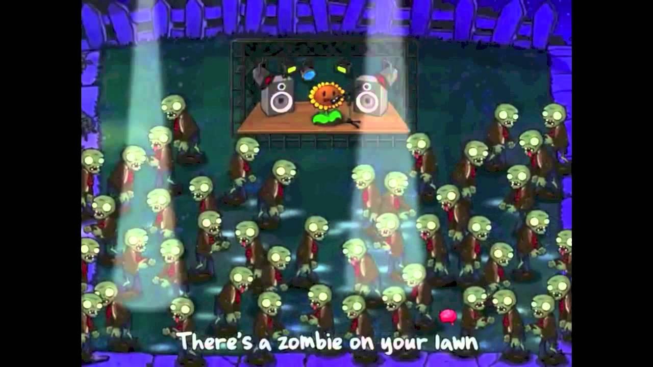 Hay Un Zombie En Mi Jardin - Plantas Contra Zombies | Karaoke Random tout Zombie De Jardin