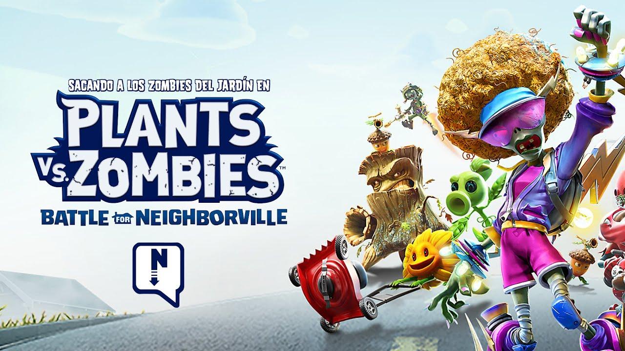Hay Un Zombie En Mi Jardín - Plants Vs. Zombies: Battle For Neighborville dedans Zombie De Jardin