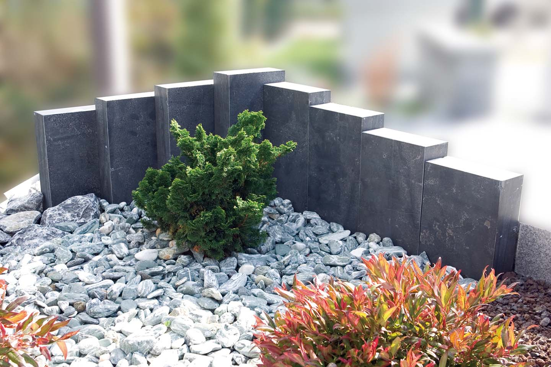 Heinrich Pierres Naturelles - Espace Jardin intérieur Jardin Avec Galets Blancs