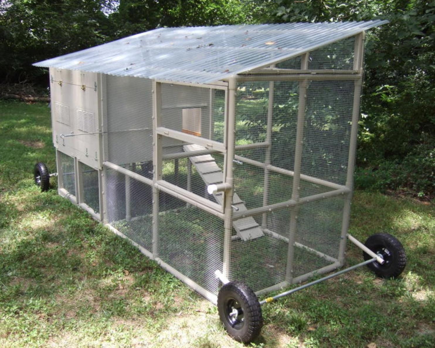 Hen Hideout | Poule | Construire Un Poulailler, Poulailler ... tout Fabriquer Cabane De Jardin