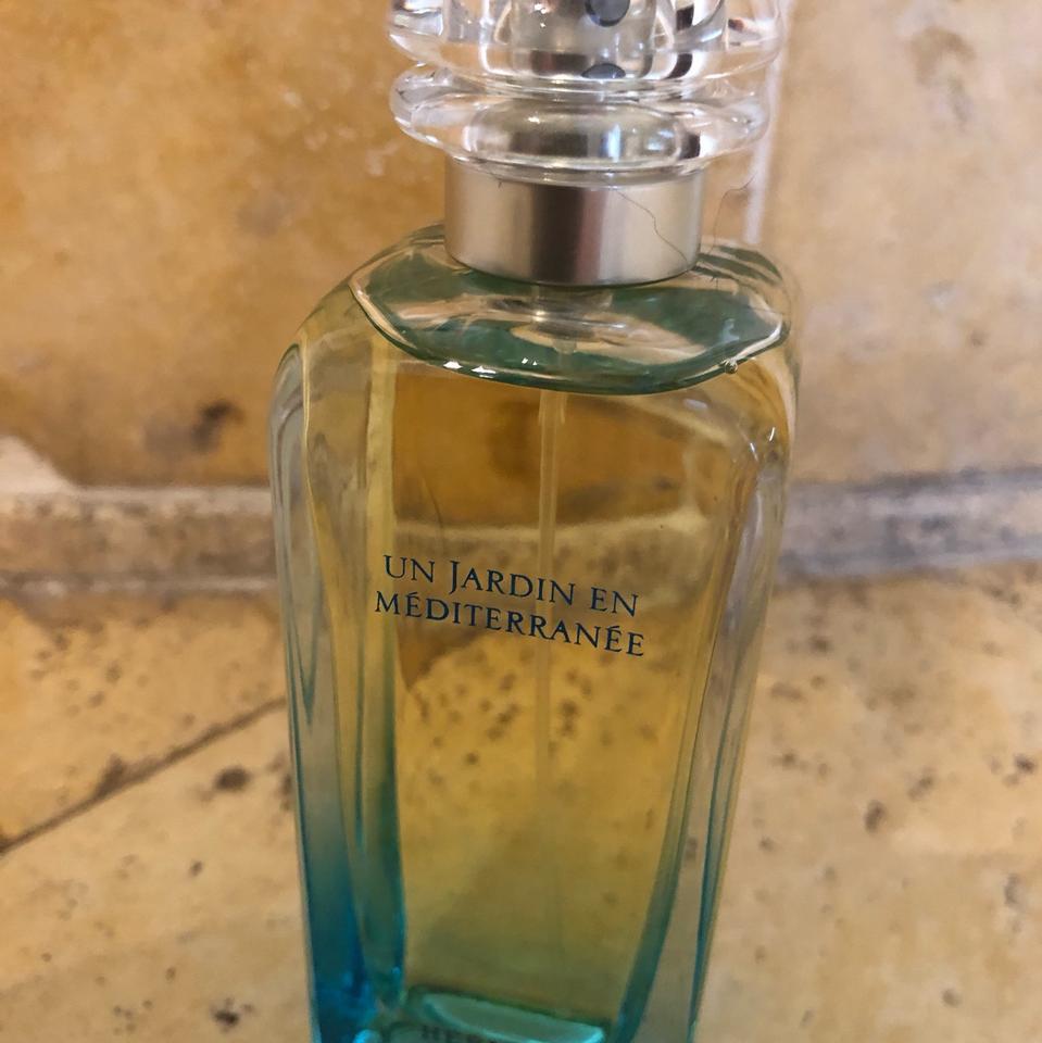 Hermès Un Jardín En Mediterránee 3.3 Oz (100 Ml) Fragrance 34% Off Retail concernant Un Jardin En Méditerranée