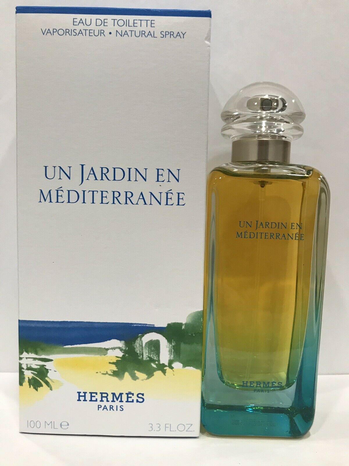 Hermes Un Jardin En Mediterranee 3.3Fl.oz. Edt. 99%full, In A Box serapportantà Un Jardin En Méditerranée