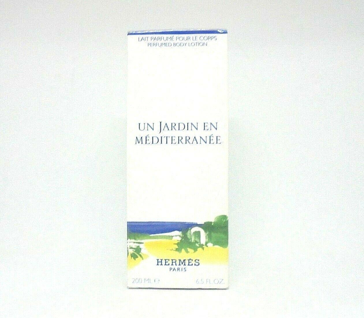Hermes Un Jardin En Mediterranee Perfumed Body Lotion ~ 6.5 Oz Bnib pour Un Jardin En Méditerranée