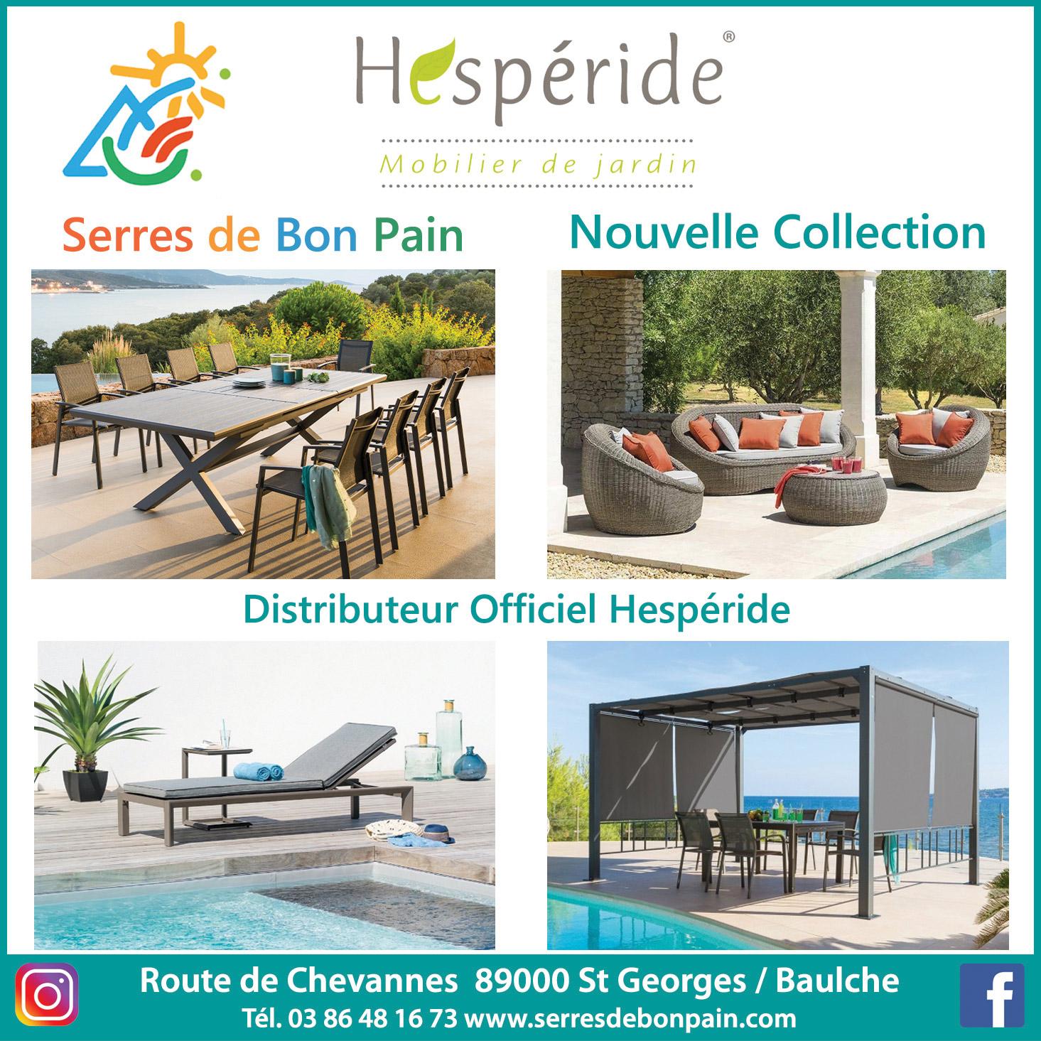 Hespéride 🍀 - Serres De Bon Pain intérieur Chaise De Jardin Hesperide