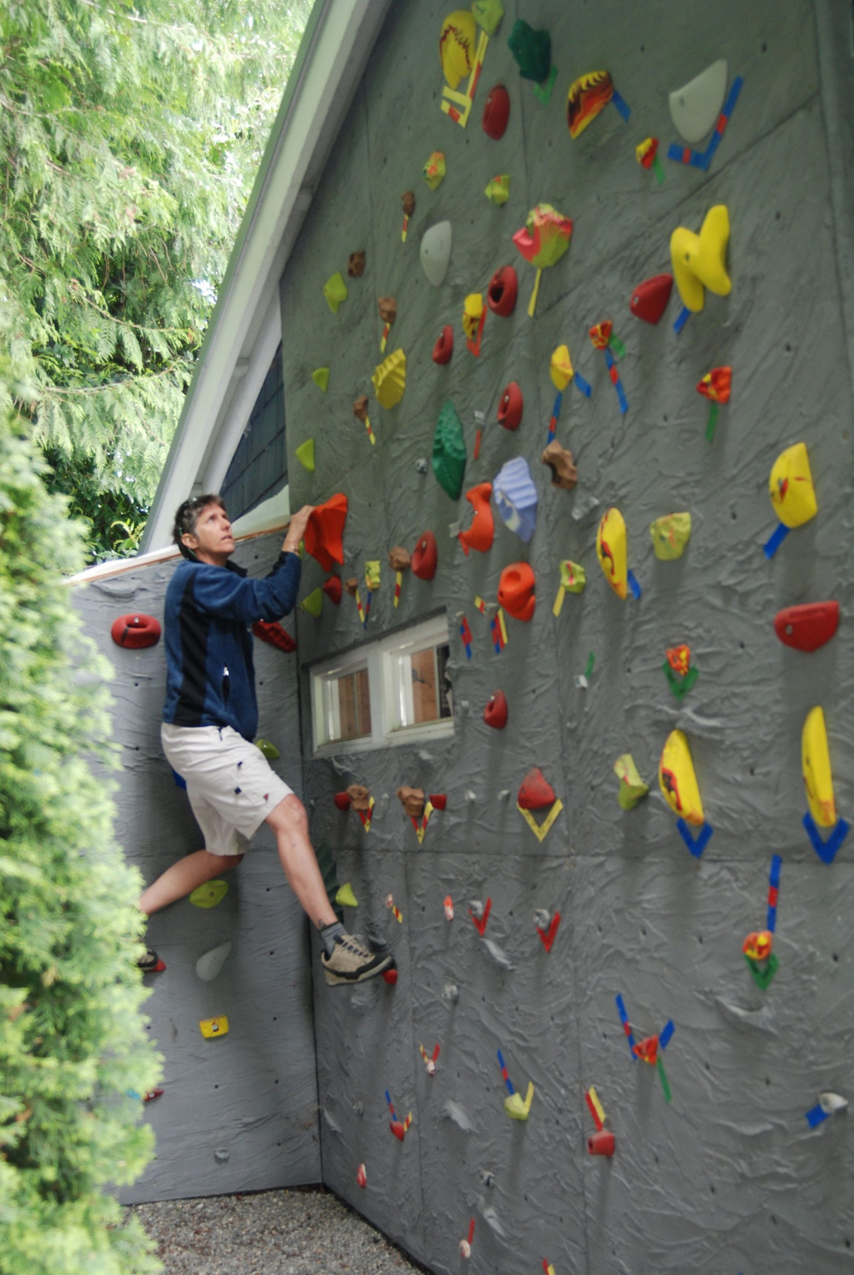 Home Rock Climbing Wall - By Elevate Climbing Walls | Mur D ... encequiconcerne Mur D Escalade Pour Jardin