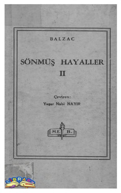 Honore De Balzac Sönmüş Hayaller Ii (Taşralı Bir Büyük Adam ... tout Faire Un Jardin Zen
