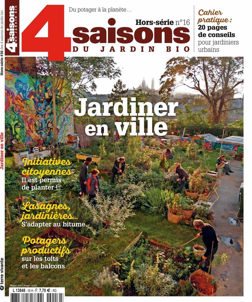 """Hors Série ''les 4 Saisons Du Jardin Bio"""" Sur ''jardiner En ... serapportantà Jardiner Bio Magazine"""