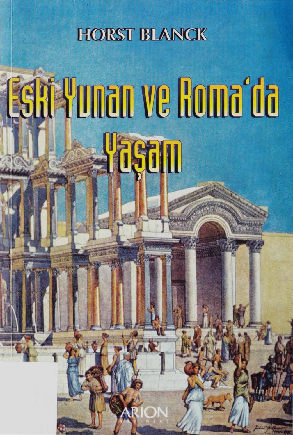 Horst Blanck- Eski Yunan Ve Roma'da Yaşam By Orbis - Issuu pour Amphore De Jardin