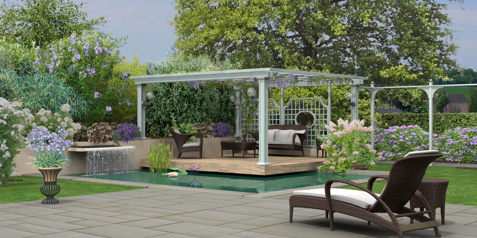 Hortus3D Création De Plans De Jardin 3D En Réalité Virtuelle intérieur Logiciel Creation Jardin