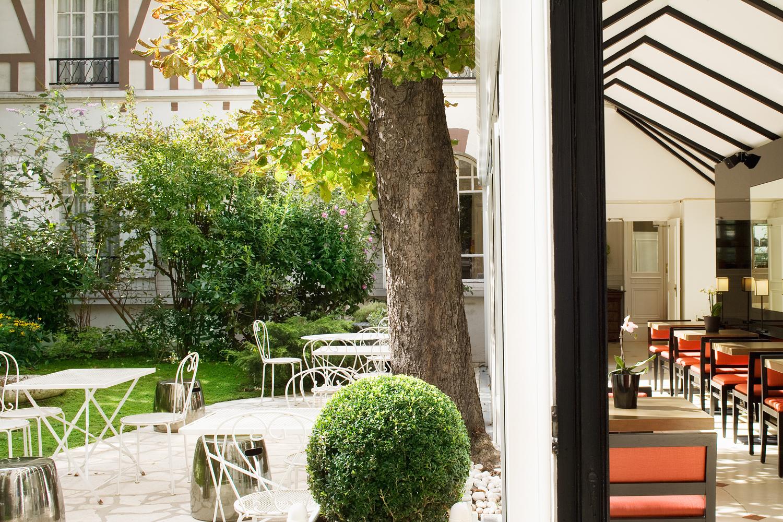 Hôtel Le Jardin De Neuilly Paris *** | Hôtel Près Du Palais ... à Le Jardin De Neuilly Hotel