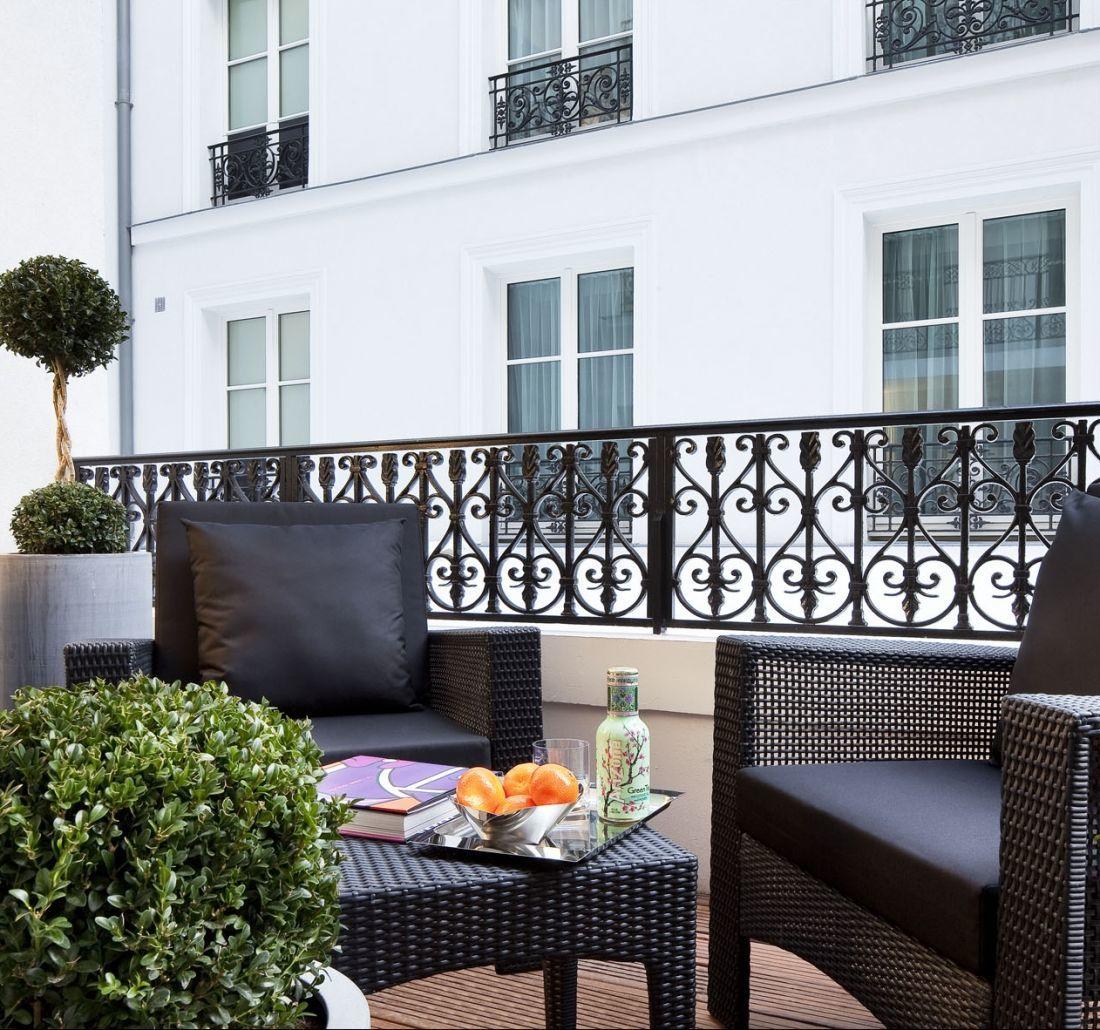 Hotel Les Jardins De La Villa   4-Star Hotel In Paris ... à Hotel Jardins De La Villa