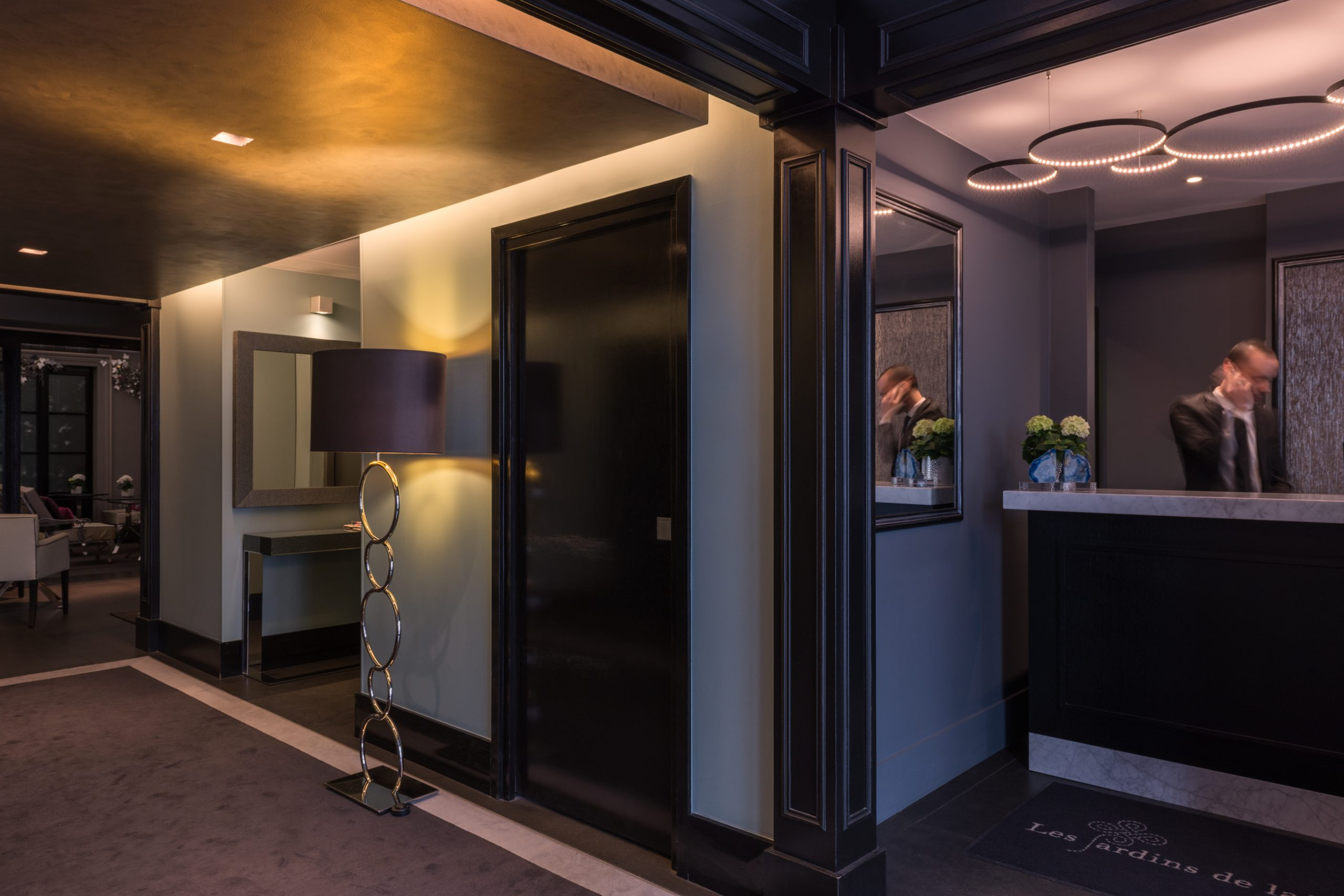 Hotel Les Jardins De La Villa   Luxury Hotel In Paris ... intérieur Hotel Jardins De La Villa