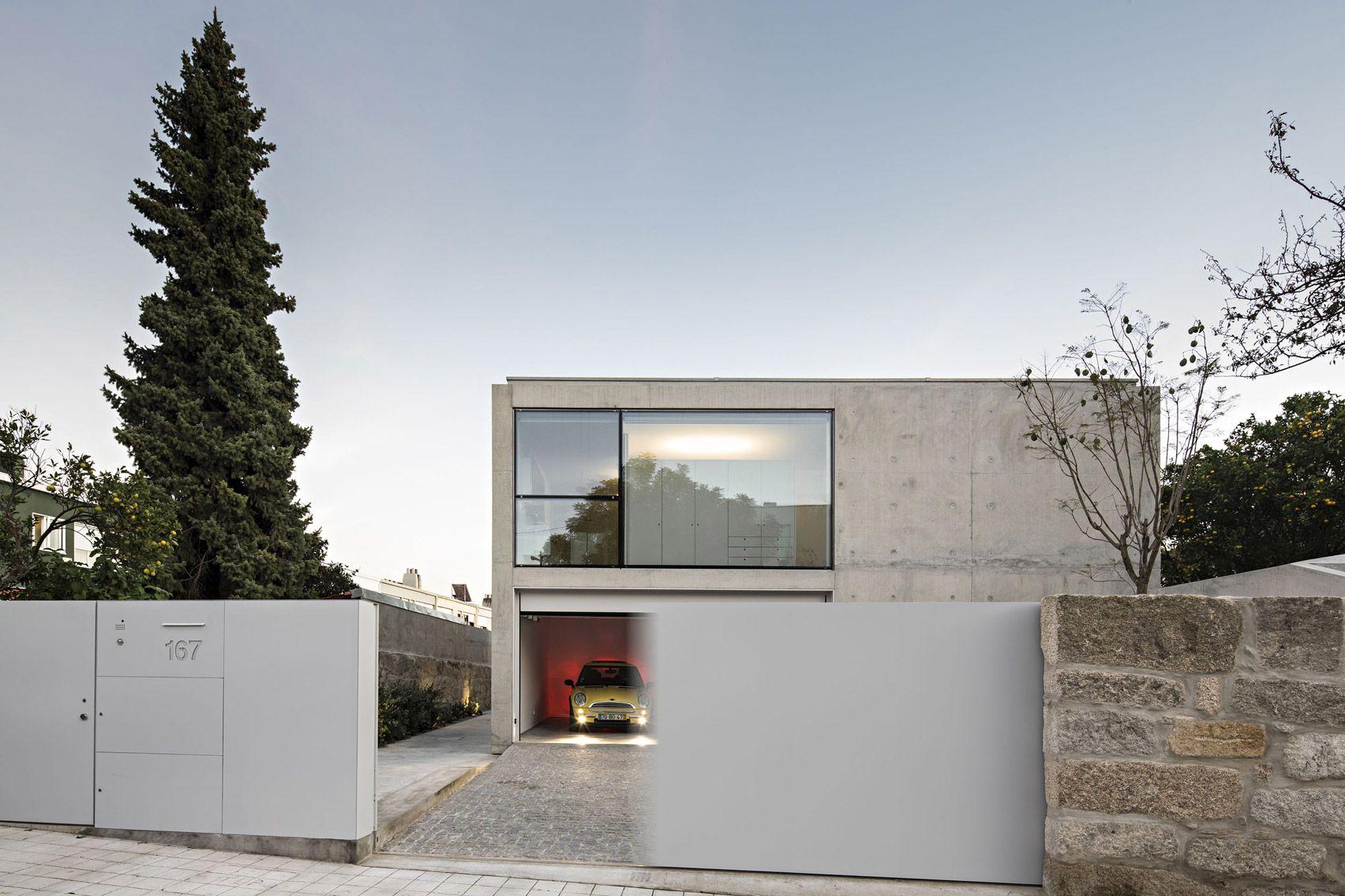 House In Serralves By João Vieira Campos   Maison ... avec Abri De Jardin Beton
