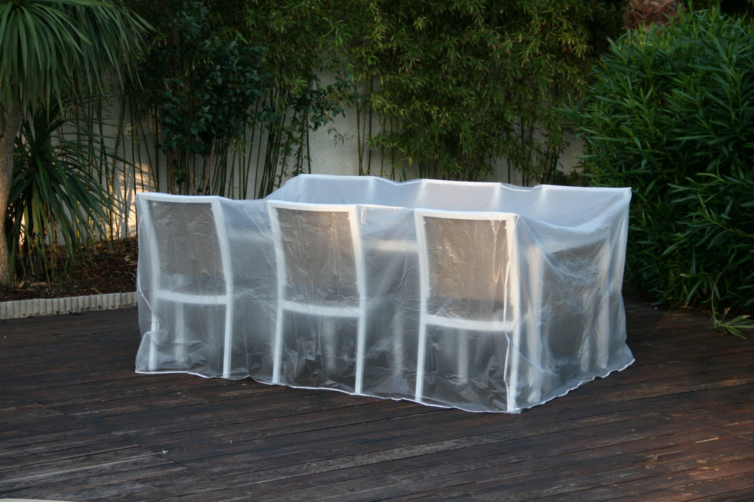 Housse De Protection / Bâche Pour Salon Et Table De Jardin tout Bache De Protection Salon De Jardin