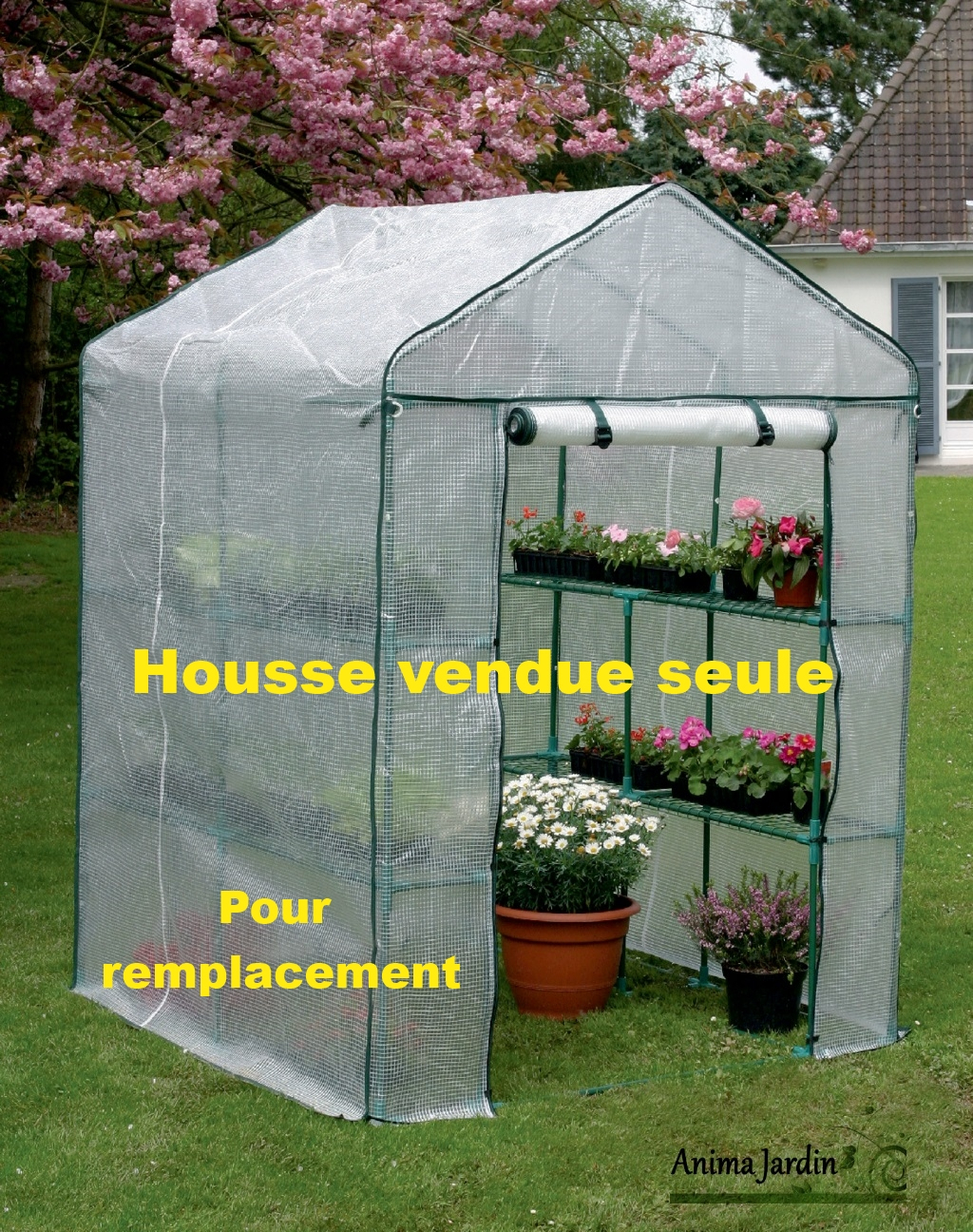 Housse De Serre Jardin 2 M², Greenseason 4 Nortène, Bâche Vendue Seule destiné Bache Pour Serre De Jardin