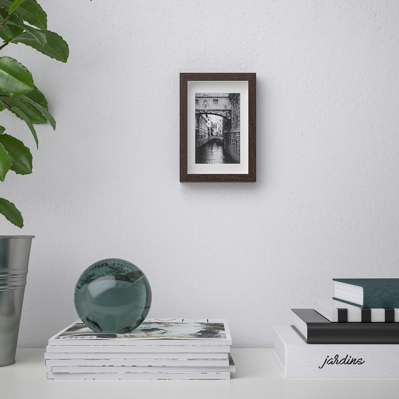 Hovsta Frame - Dark Brown 10X15 Cm tout Desserte Jardin Ikea
