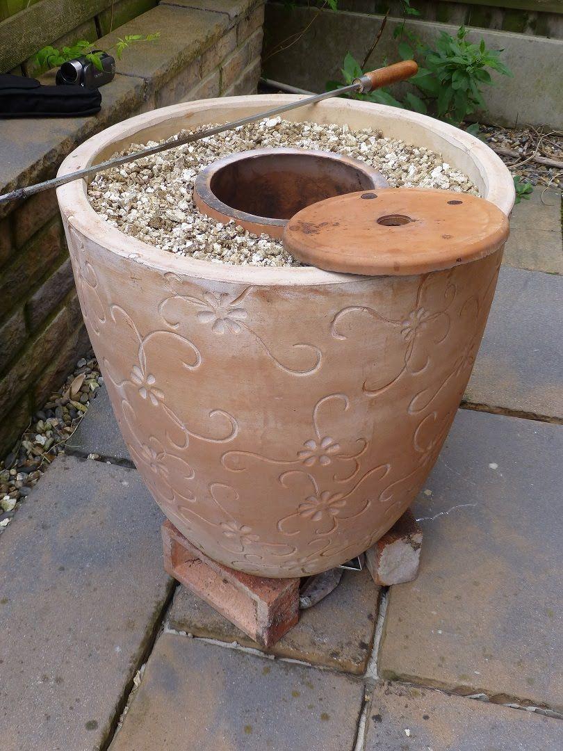 How To Make A Diy Tandoor Oven With Flower Pots | Four ... encequiconcerne Ustensile De Jardin