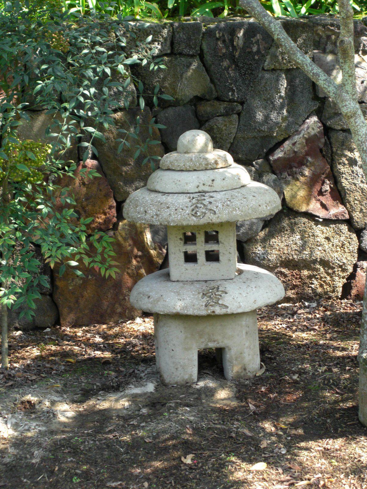 Hypertufa   Jardins, Lanterne, Lanterne Japonaise serapportantà Lanterne Japonaise Jardin