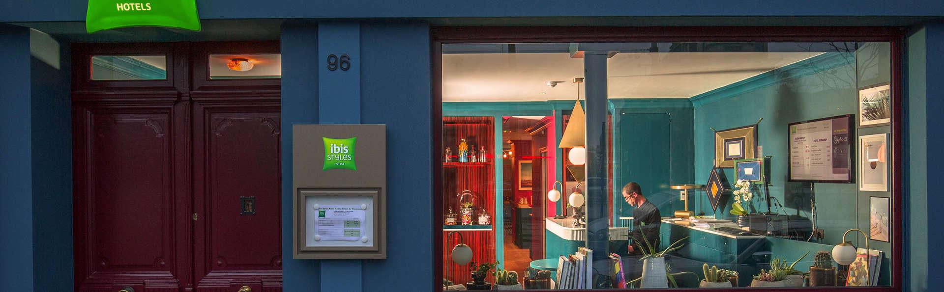 Ibis Styles Paris Nation Cours De Vincennes 3* - Paris, France tout Hotel Des Jardins Vincennes
