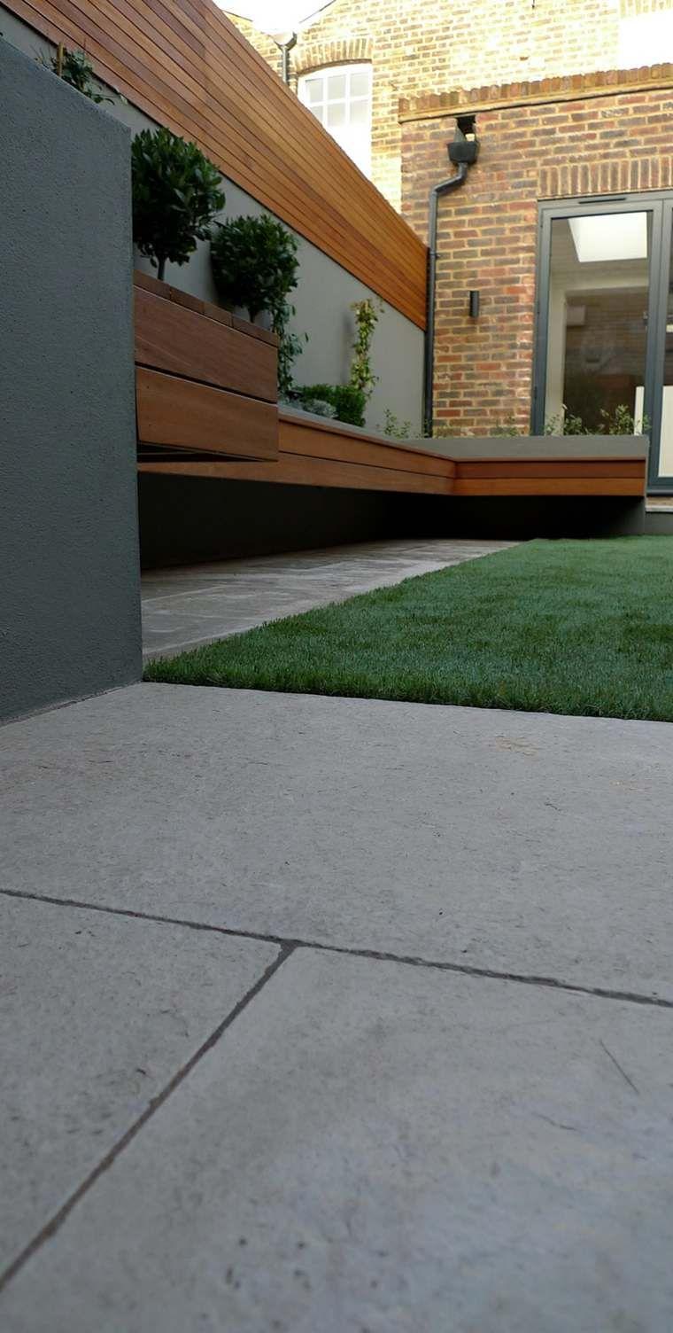Idée De Brise Vue Jardin En Bois | Modern Courtyard, Garden ... destiné Cache Vue Jardin