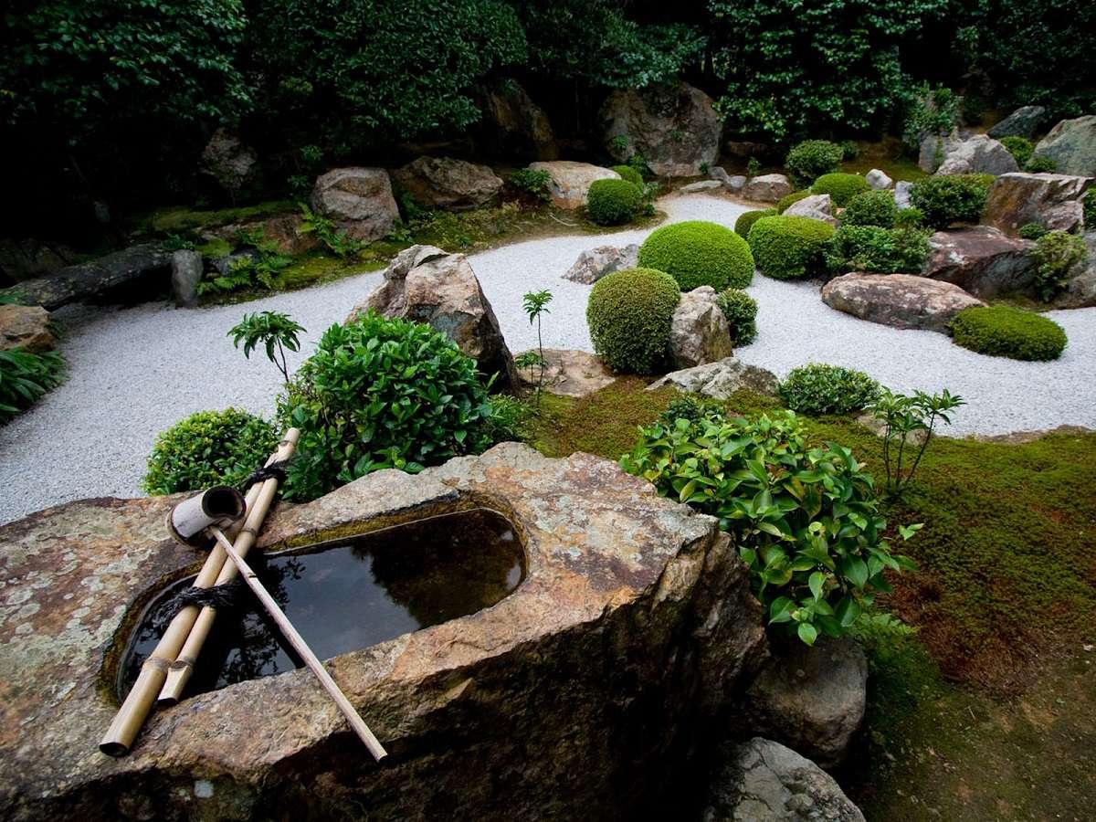 Idee De Jardin Zen Jardin Zen Décoration Jardin Super Déco ... encequiconcerne Idée Deco Jardin