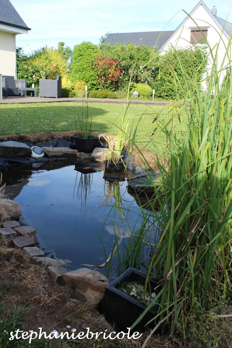 Idée Déco Brico - Aménager Un Bassin Dans Le Jardin ... tout Idée Deco Jardin