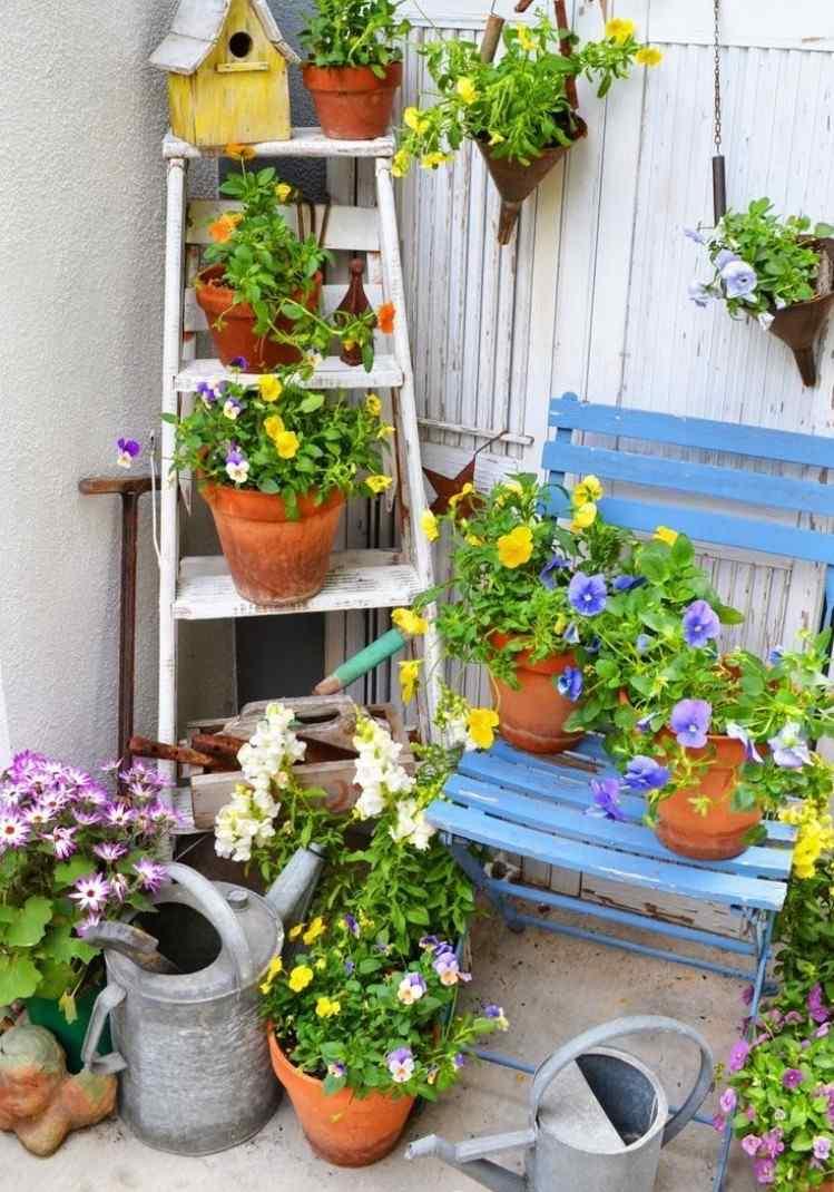 Idee Deco Jardin Conception - Idees Conception Jardin pour Astuce Deco Jardin Recup