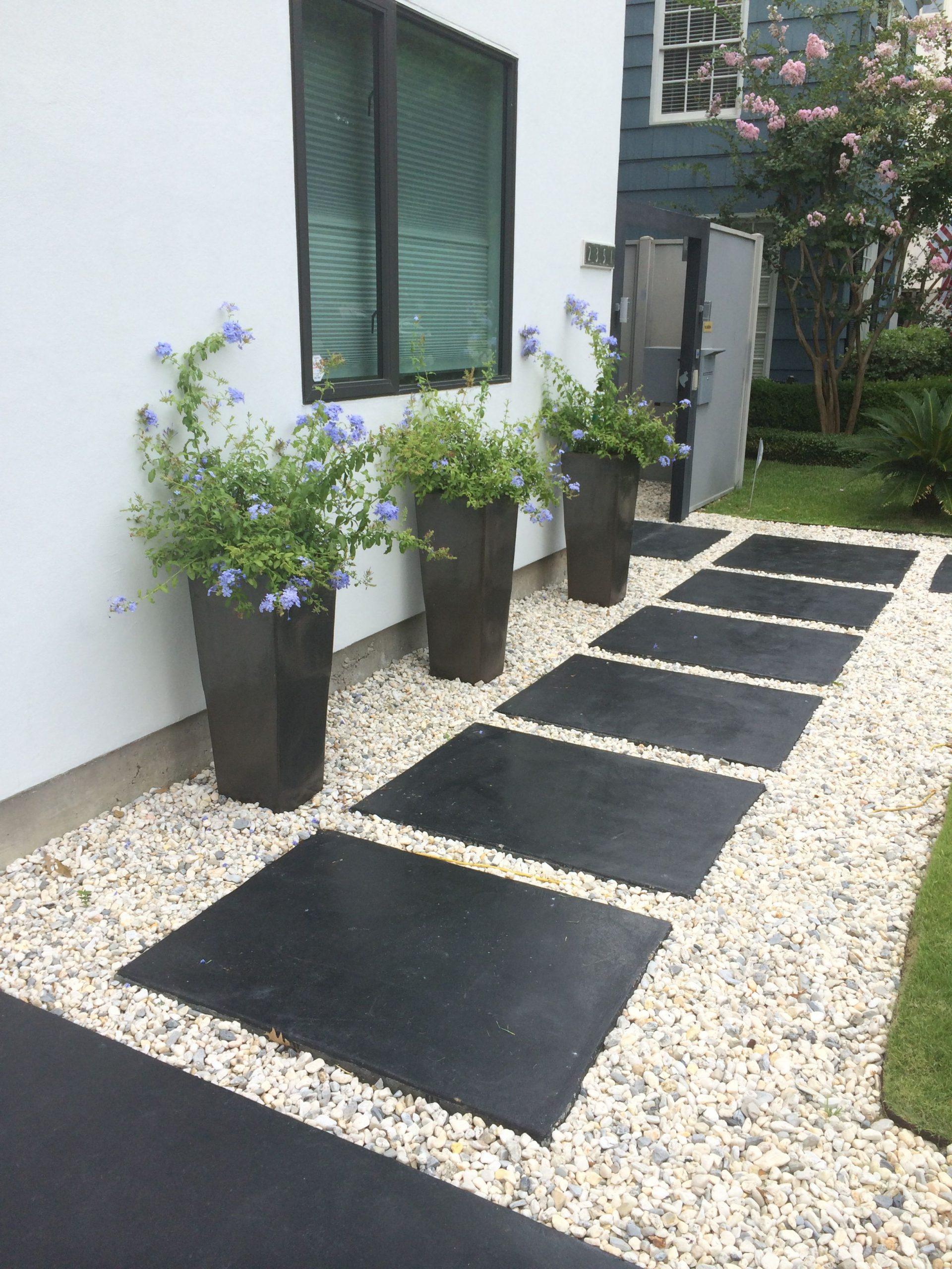 Idée Extérieur | Design Jardin, Aménagement Jardin Devant ... concernant Idee Amenagement Jardin Devant Maison