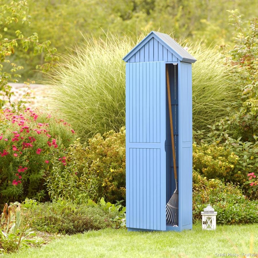 Idées De Rangement Pour Les Outils De Jardin – Par Salomé ... avec Cabine De Plage Pour Jardin