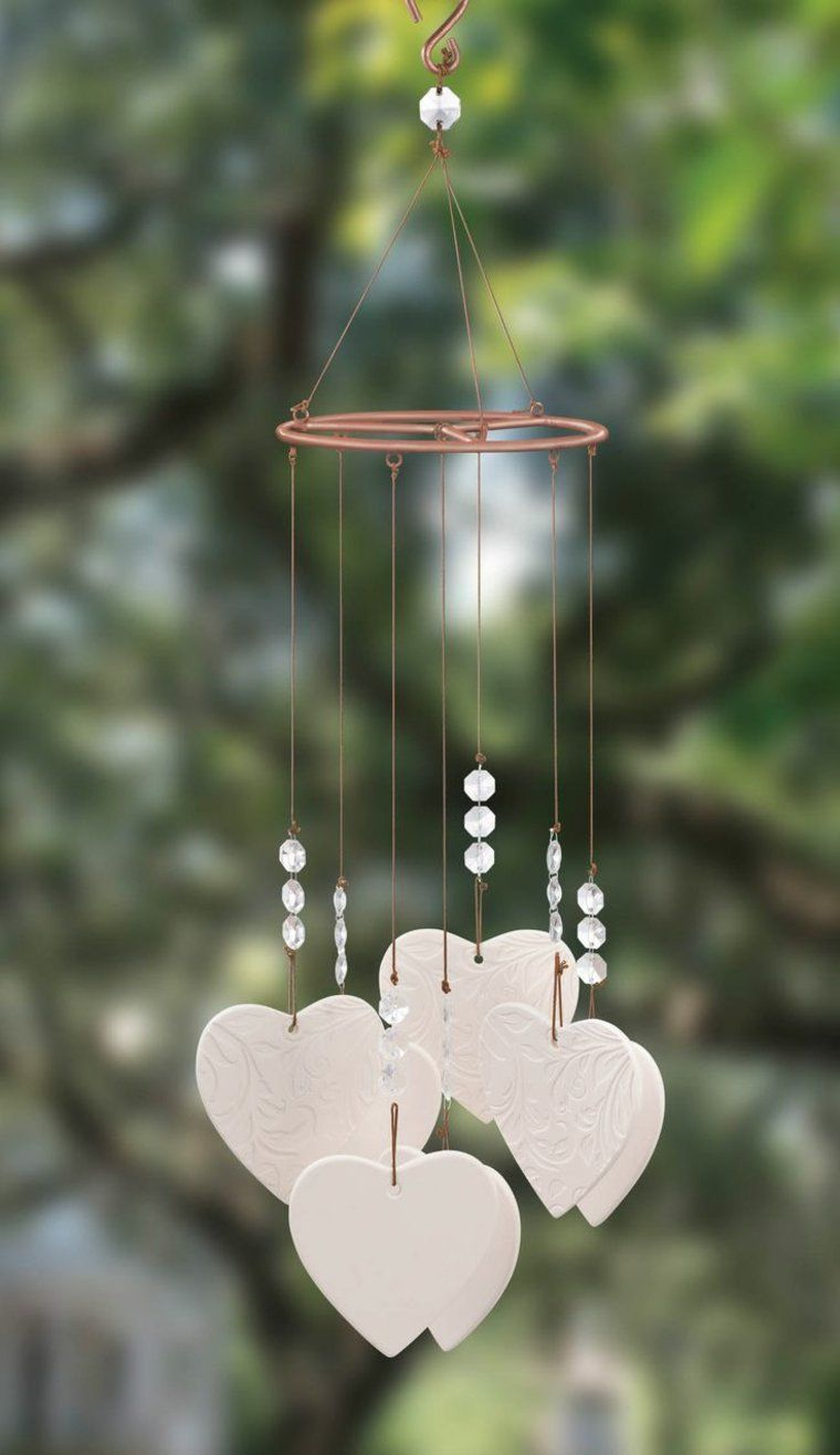 Idées Jardin Eolienne Diy Deco Romantique | Windspiele Diy ... tout Eolienne Jardin