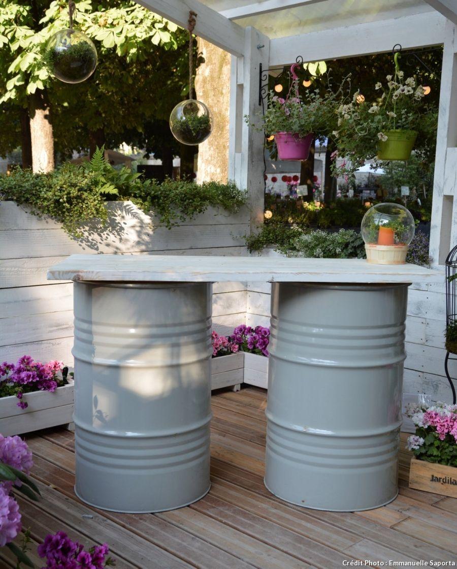 Idées Récup Pour Le Jardin - #idées #jardin #le #pour #récup ... tout Recup Pour Le Jardin