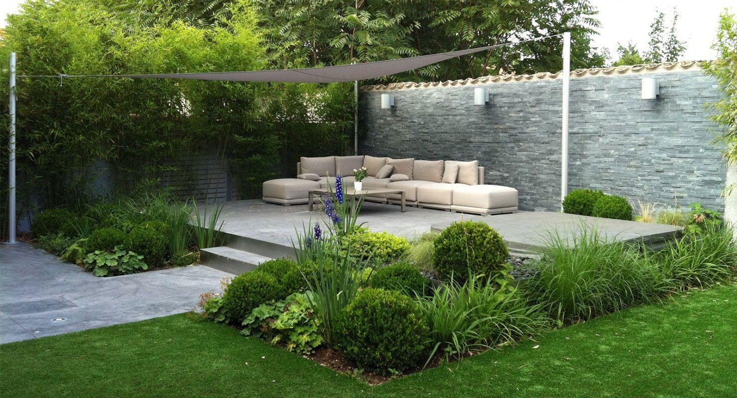 Idesia-Jardins | Jardin Contemporain, Aménagement Paysager ... à Jardin Paysager Avec Galets