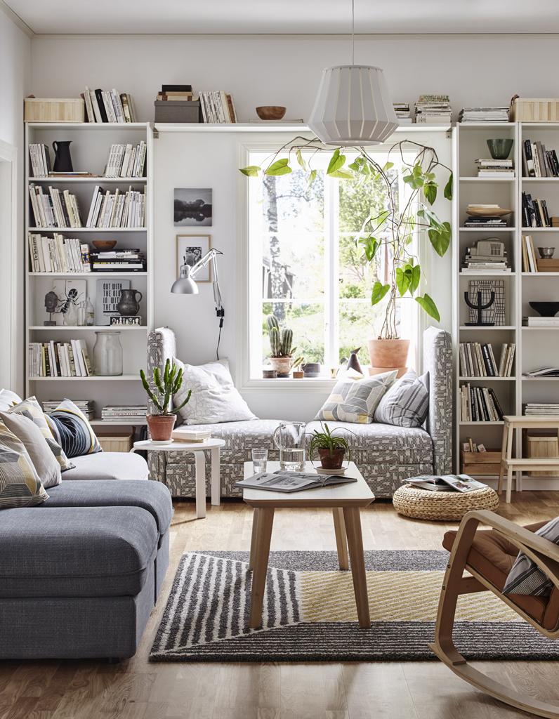 Ikea : La Cultissime Bibliothèque Billy A 40 Ans, Retour En ... serapportantà Meuble De Jardin Ikea