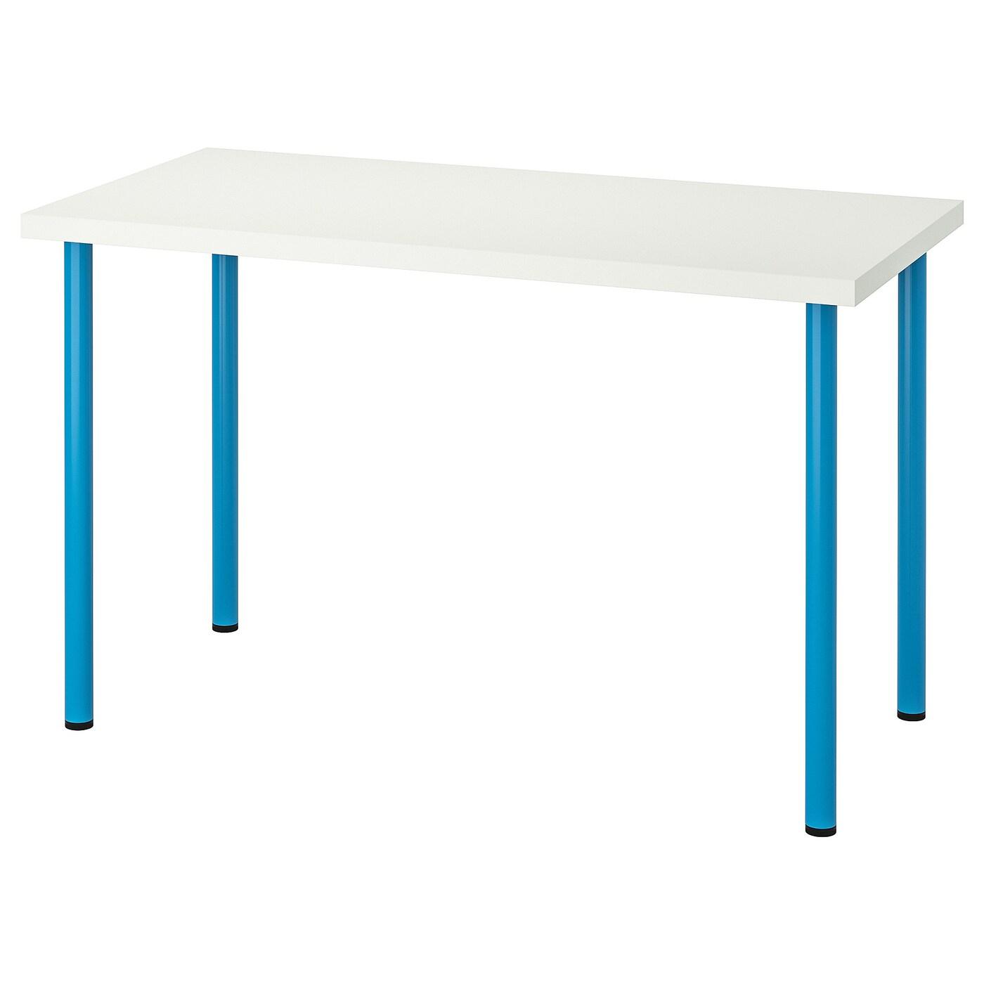 Ikea Linnmon / Adils Table Noir Brun-Noir 120X60 Cm Meubles ... destiné Ikea Meubles De Jardin