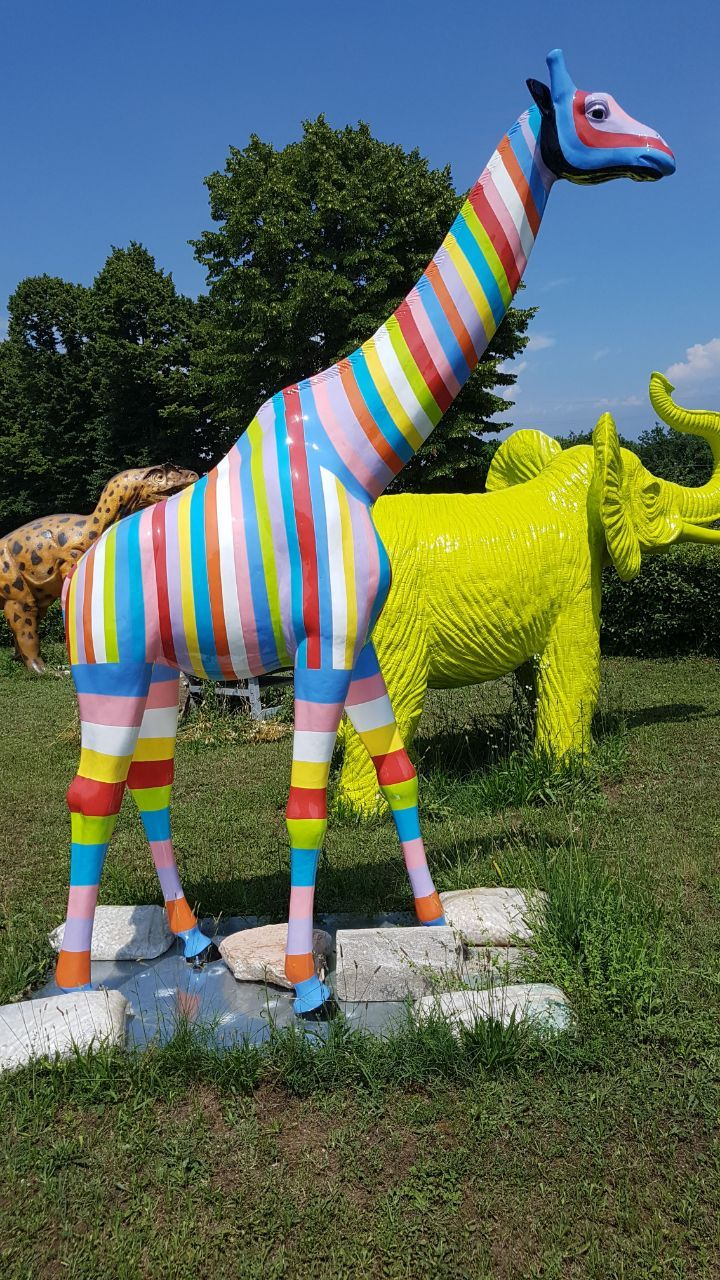 Image Du Tableau Deco Jardin De Sonia Rellan   Materiaux De ... concernant Animaux Deco Jardin