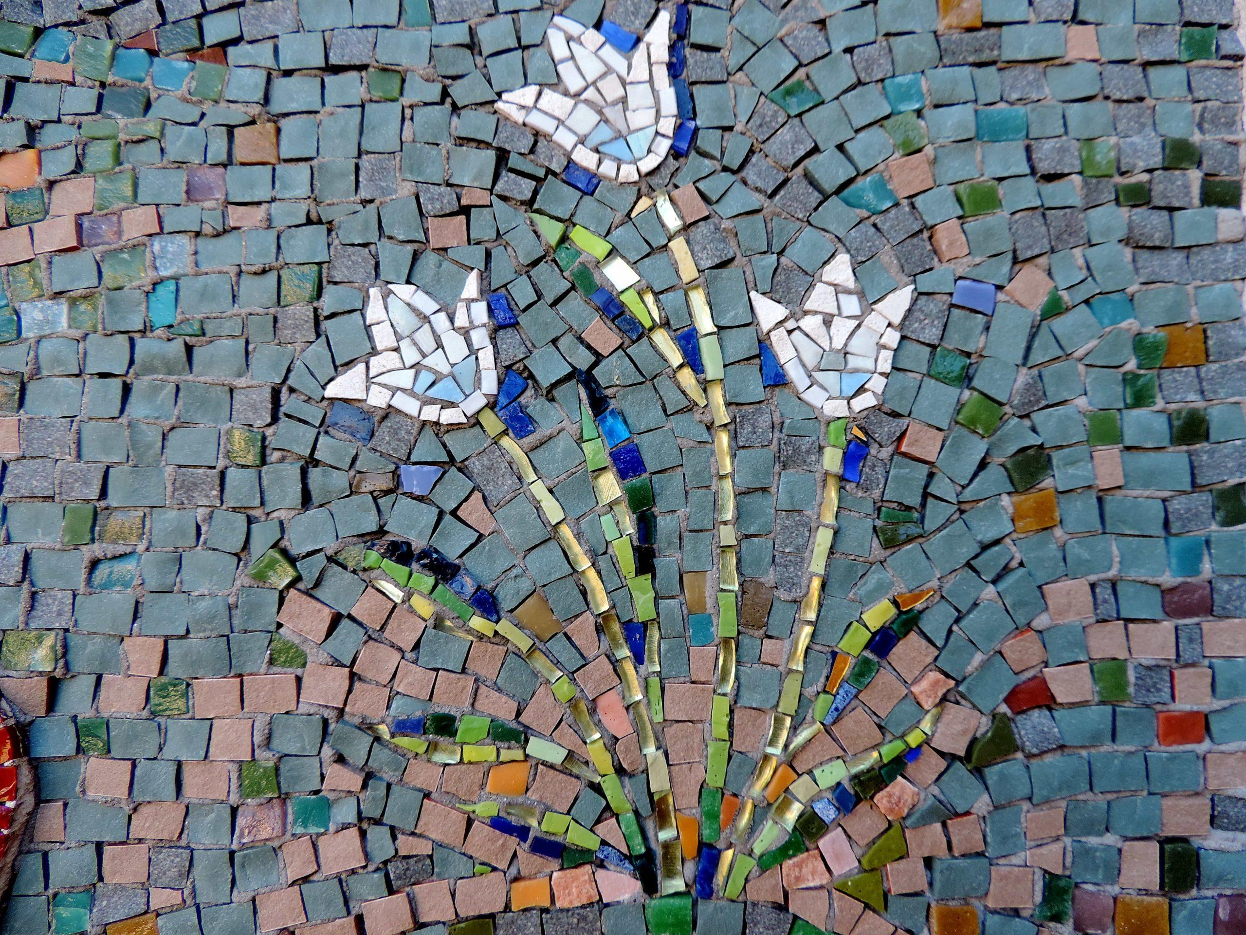 Image Libre: Jardin Fleuri, Mosaïque, Ornementales, Tuile ... à Modèle De Jardin Fleuri