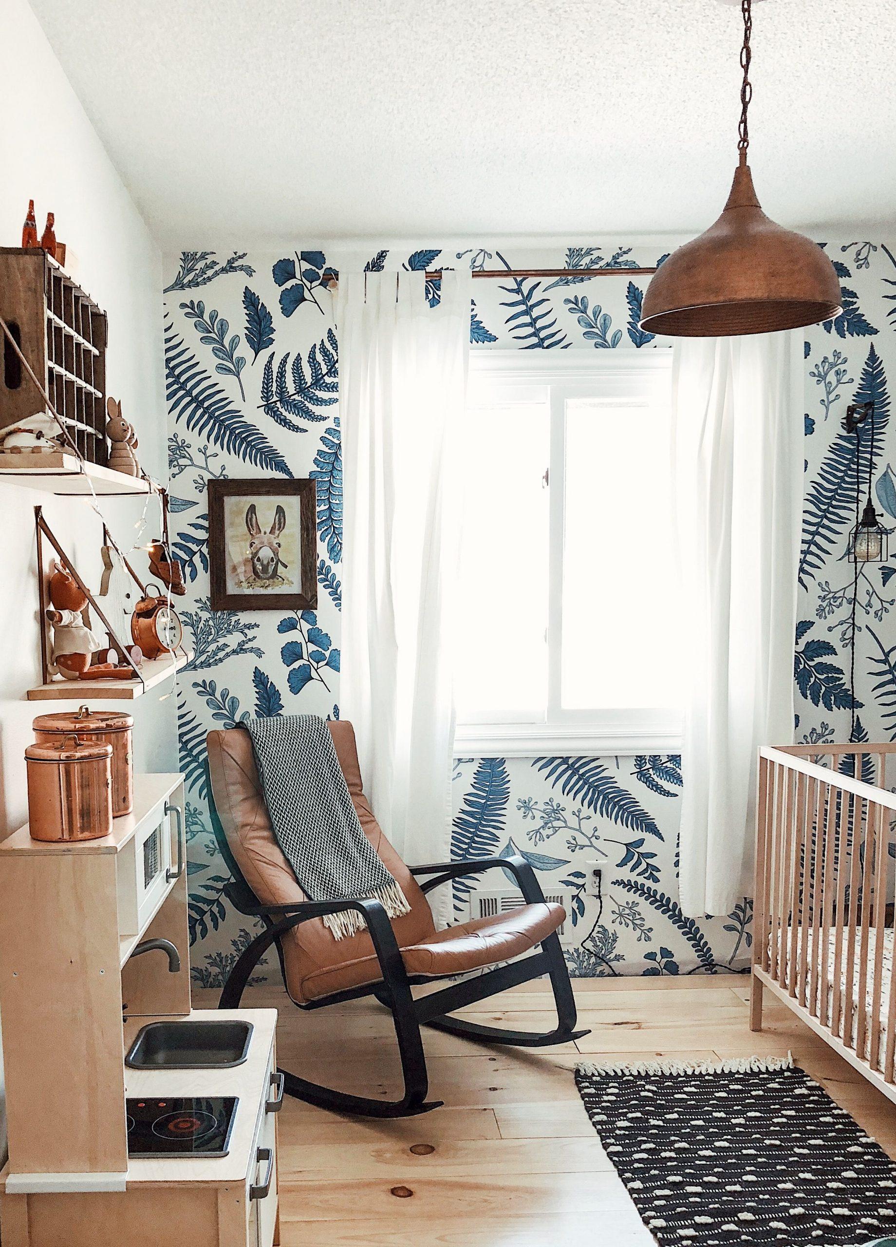 In The Nursery With Cultivate Motherhood | Aménagement ... avec Maison Bebe Jardin