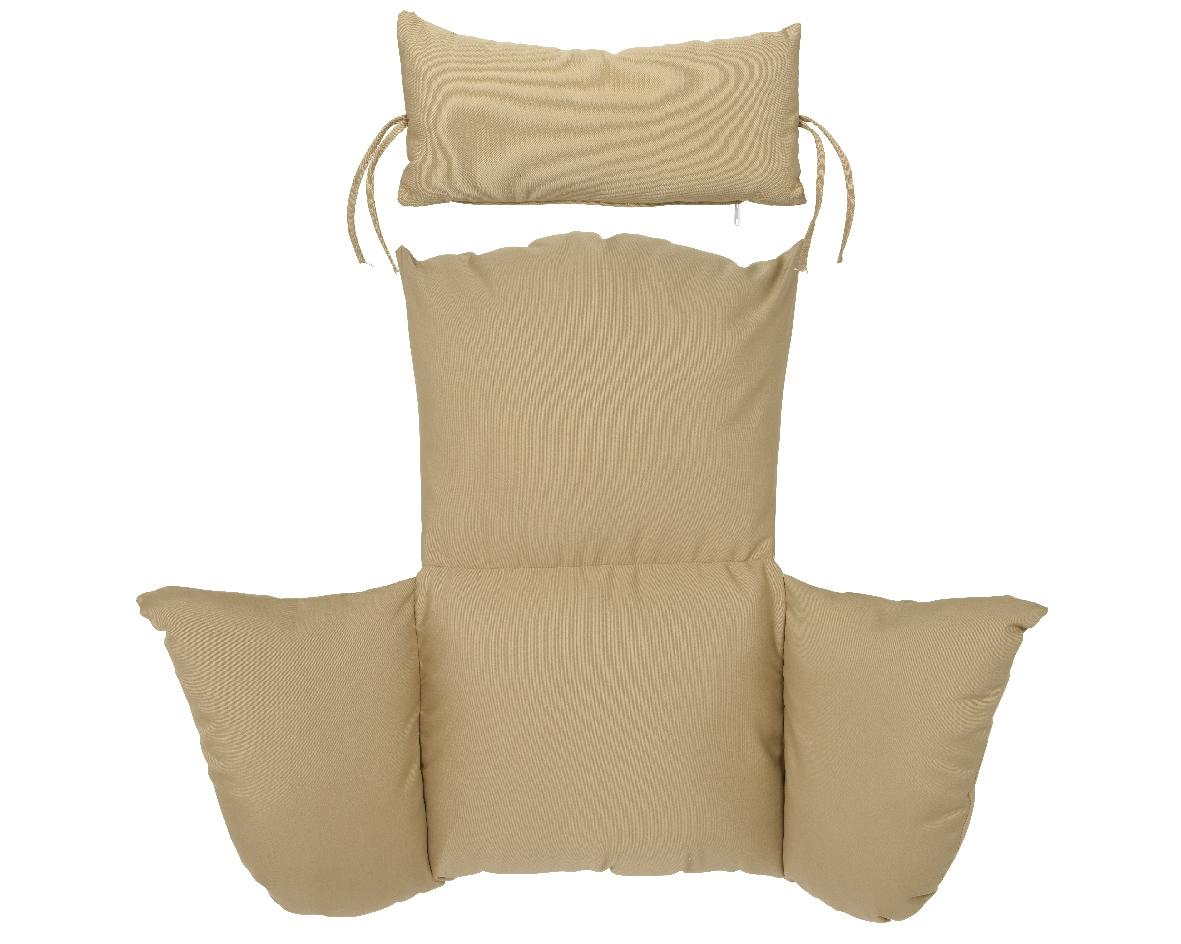 Indoou Ou Plein Air-E 105X105Cm Chaise Suspendue Coussin ... intérieur Chaise Suspendue Jardin
