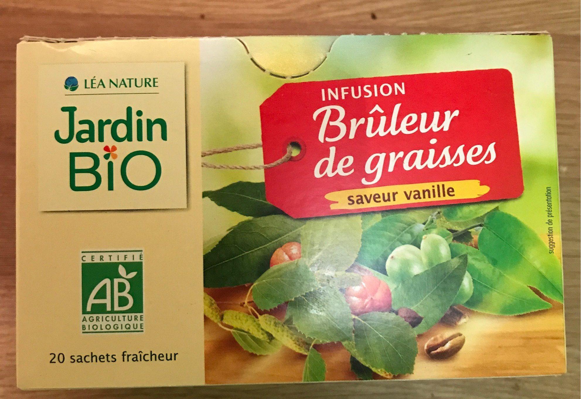 Infusion Brûleur Jardin Bio Vanille - 30 G (20 Sachets De 1,5 G) pour Jardin Bio Infusion