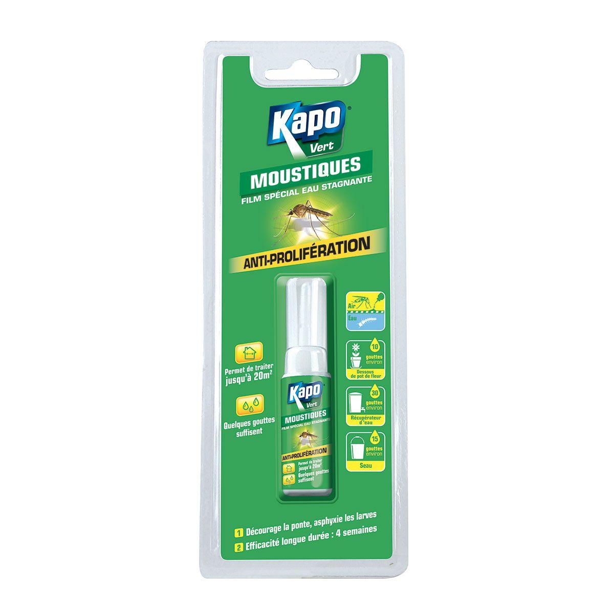 Insecticides Kapo - Film Liquide Anti-Prolifération Contre ... tout Insecticide Moustique Jardin